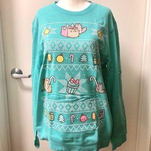 Pusheen Box Winter 2017 Christmas Sweatshirt